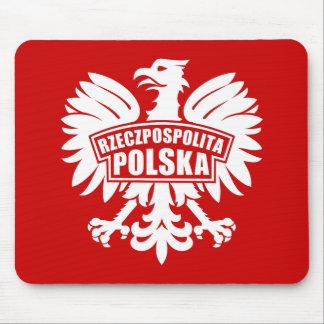 """Poland """"Rzeczpospolita Polska"""" Eagle Symbol Mouse Pad"""