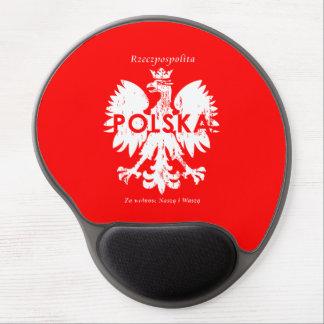 Poland Rzeczpospolita Polska Polish Eagle Emblem Gel Mouse Pad