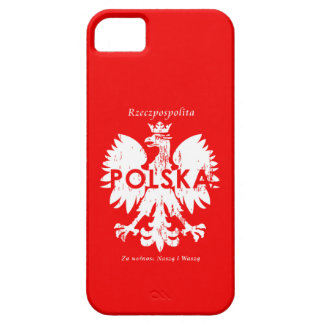 Poland Rzeczpospolita Polska Polish Eagle Emblem iPhone SE/5/5s Case
