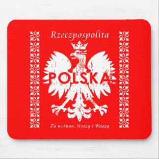 Poland Rzeczpospolita Polska Polish Eagle Emblem Mouse Pad