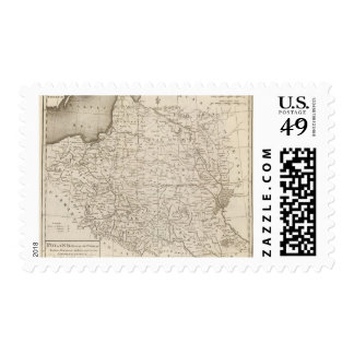 Poland, Shewing the Claims of Russia Stamp