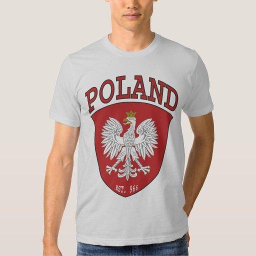 Poland Shield Tshirts