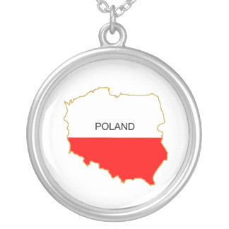 POLAND SILVER PLATED NECKLACE