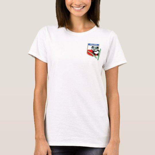 Poland Ski-jumping Panda T-Shirt