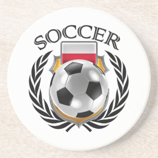 Poland Soccer 2016 Fan Gear Coaster