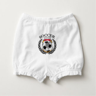 Poland Soccer 2016 Fan Gear Diaper Cover