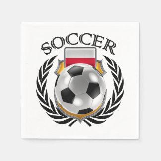 Poland Soccer 2016 Fan Gear Paper Napkin