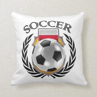 Poland Soccer 2016 Fan Gear Throw Pillow