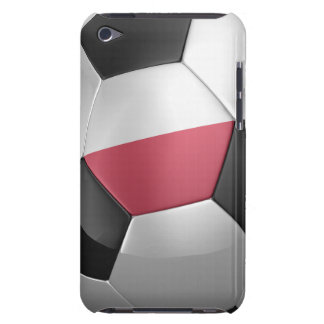 Poland Soccer Ball iPod Touch Cover