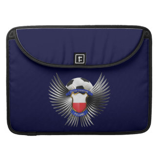 Poland Soccer Champions MacBook Pro Sleeves