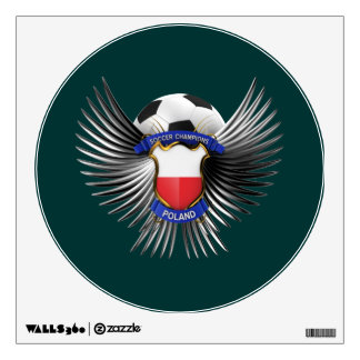Poland Soccer Champions Wall Decal
