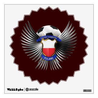Poland Soccer Champions Wall Sticker