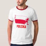 Poland Soccer Flag T-Shirt