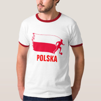 Poland Soccer Flag T-Shirt