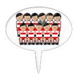 Poland soccer team figuras de tarta