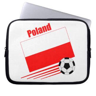 Poland - Soccer Team Computer Sleeve