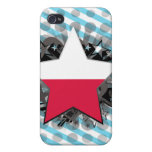 Poland Star iPhone 4/4S Cover