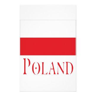 Poland Customized Stationery