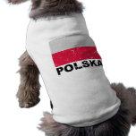 Poland Vintage Flag Dog Clothes