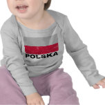 Poland Vintage Flag T-shirts