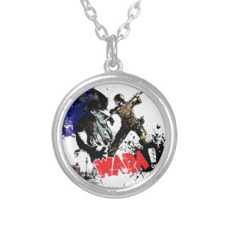 Poland Wara! Silver Plated Necklace
