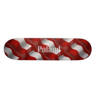 Poland Waving Flag Skateboards