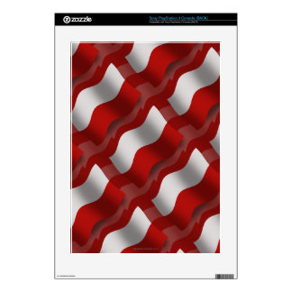 Poland Waving Flag Skin For The PS3 Console