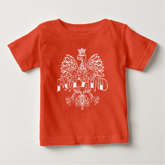Poland White Eagle Ink Baby T-Shirt