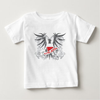 Poland Winged Baby T-Shirt