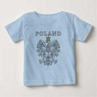 Poland With Polish Eagle Baby T-Shirt