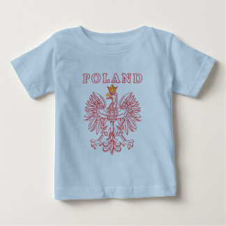 Poland With Red Polish Eagle Baby T-Shirt