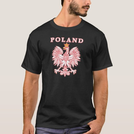Poland With Red Polish Eagle T-Shirt