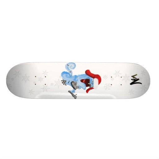 polar ape skate board deck