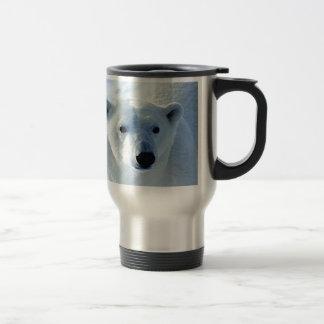 Polar Bear 15 Oz Stainless Steel Travel Mug