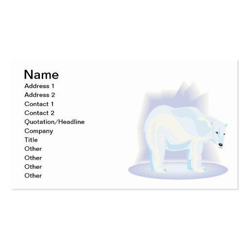 Polar Bear 2 Business Card