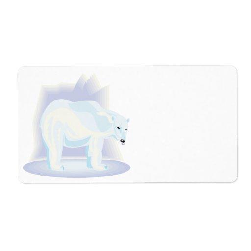 Polar Bear 2 Labels