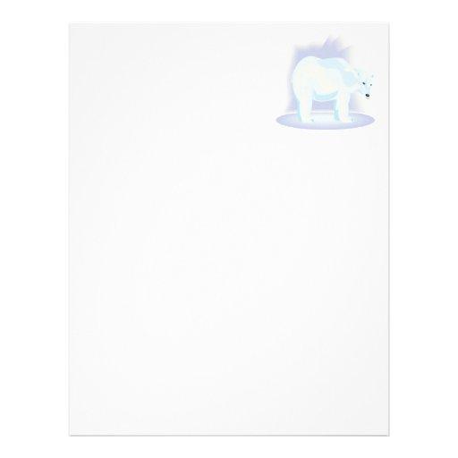 Polar Bear 2 Personalized Letterhead