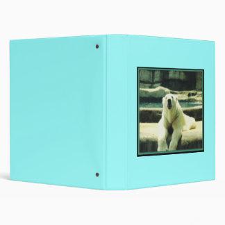 Polar Bear 3-Ring Binder