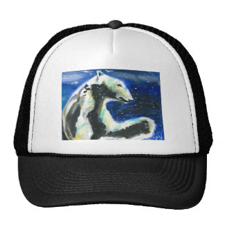 Polar Bear 3 Trucker Hat