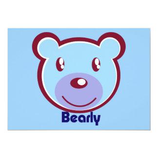 polar-bear-412138 CUTE BLUE POLAR BEAR CARTOON HAP Card