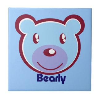 polar-bear-412138 CUTE BLUE POLAR BEAR CARTOON HAP Tiles