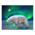 Polar Bear 4.25x5.5 Paper Invitation Card