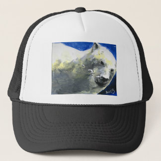 polar bear 4 trucker hat
