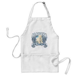Polar Bear Alabama Adult Apron