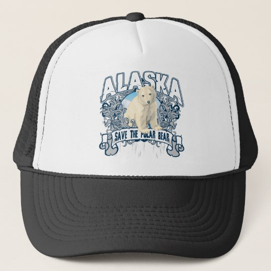 Polar Bear Alaska Trucker Hat