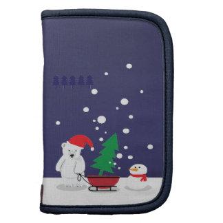 polar bear and Christmas tree Planners