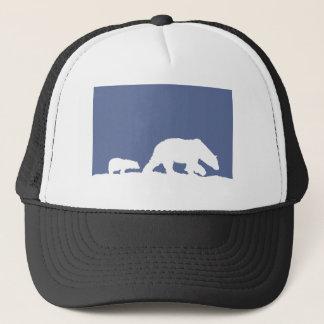 Polar Bear and Cub Trucker Hat