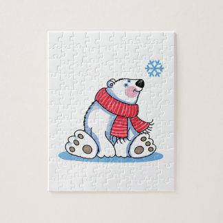 POLAR BEAR AND SNOWFLAKE PUZZLES