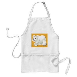 Polar bear apron