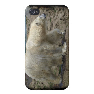Polar Bear Arctic Animal Bear-lover Cover For iPhone 4